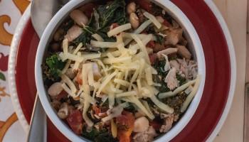 White Turkey Kale Chili PineappleandCoconut.com