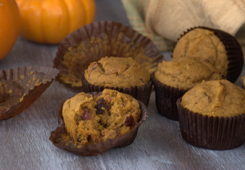 gluten free pumpkin muffins with cranberries pineappleandcoconut (3)-2