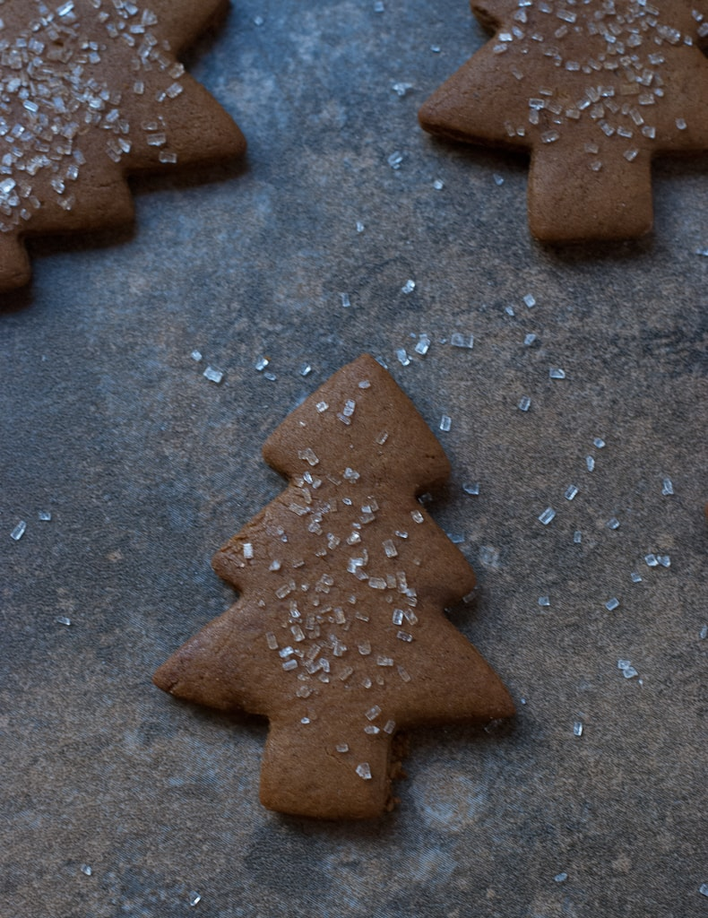 Cookies for Santa 2012 Gingerbread Christmas Trees PineappleandCoconut (1)