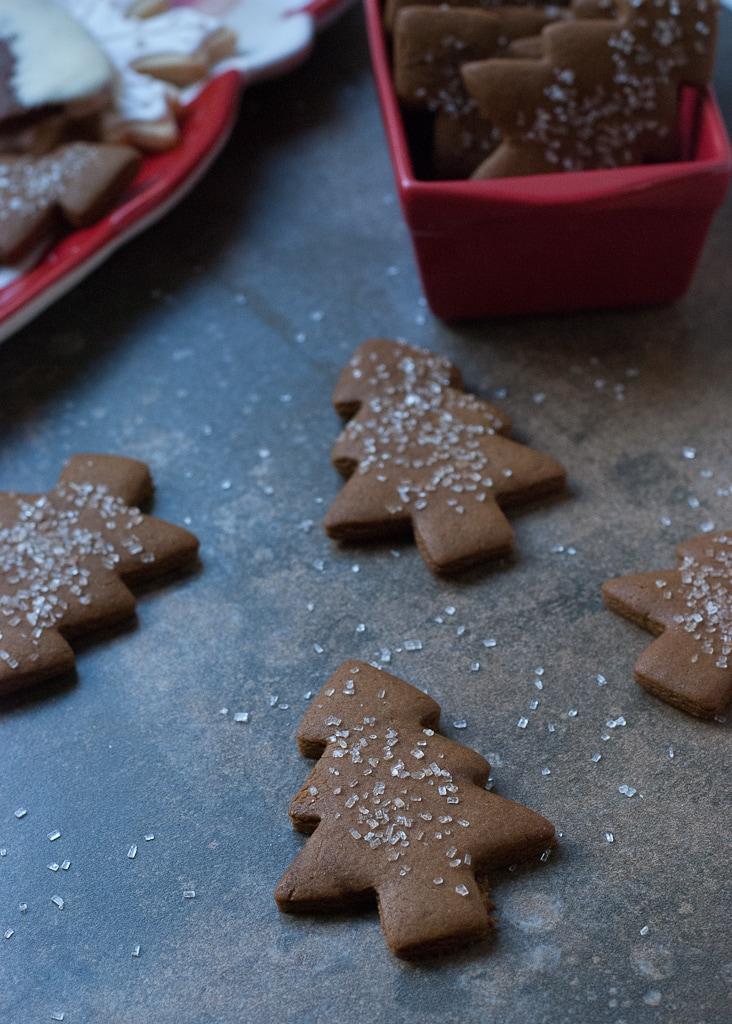 Cookies for Santa 2012 Gingerbread Christmas Trees PineappleandCoconut (2)