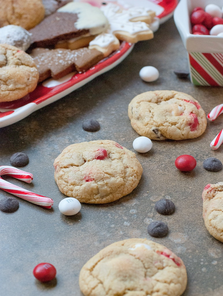 Cookies for Santa 2012 Peppermint M&M and Dark chocolate chip cookies PineappleandCoconut (1)-2