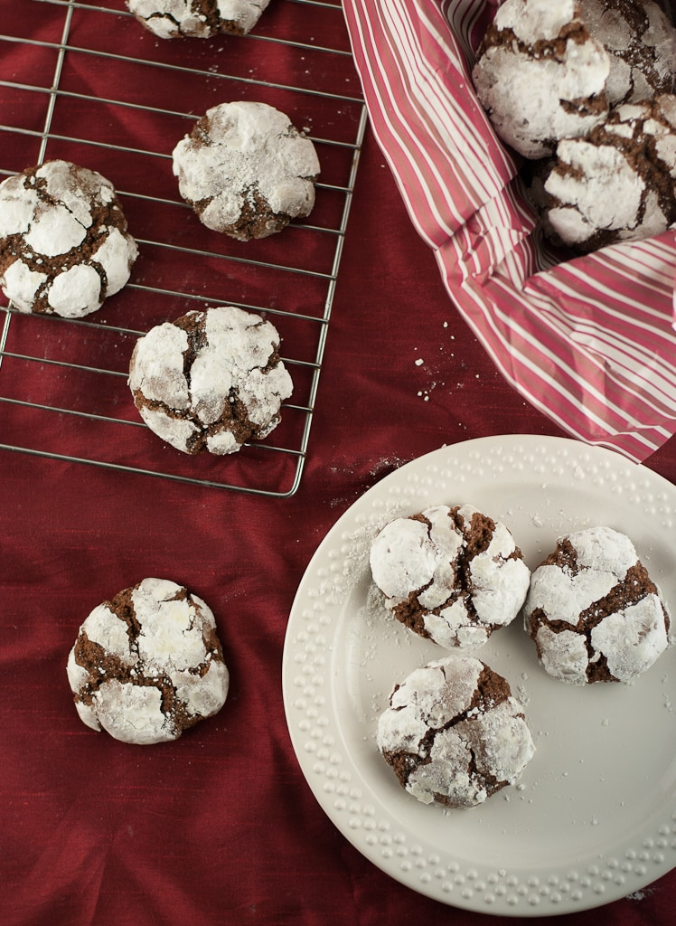 Gluten Free Chocolate Crinkle Cookies PineappleandCoconut (4)