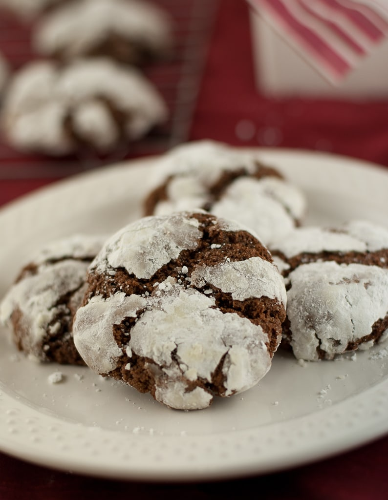 Gluten Free Chocolate Crinkle Cookies PineappleandCoconut (5)