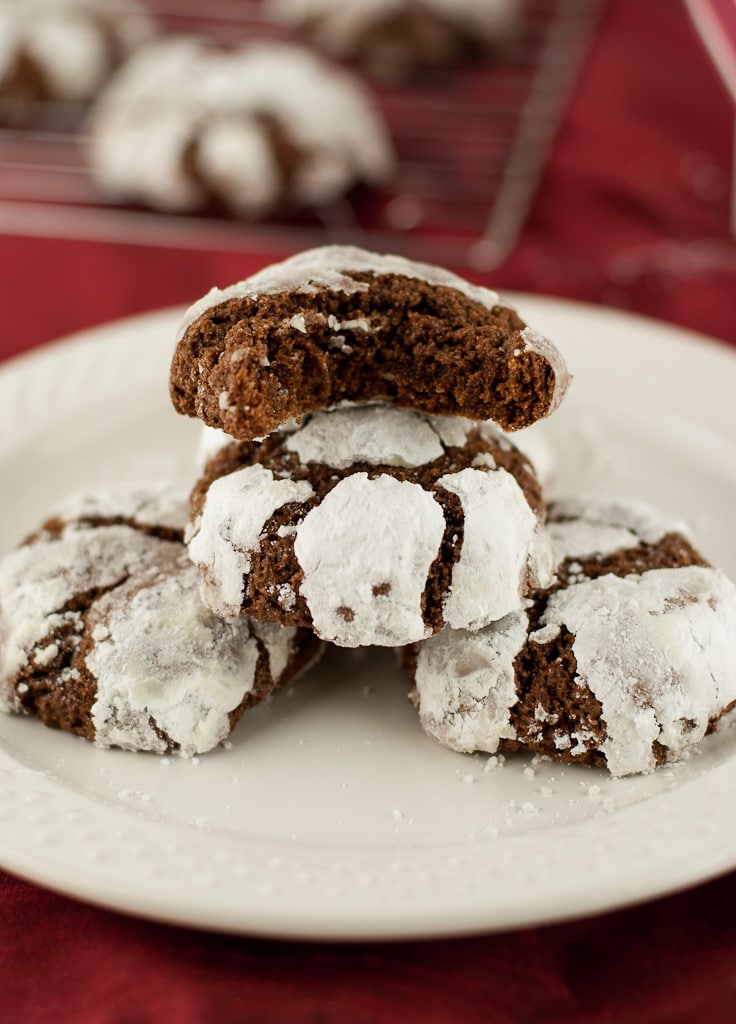 Gluten Free Chocolate Crinkle Cookies PineappleandCoconut (6)