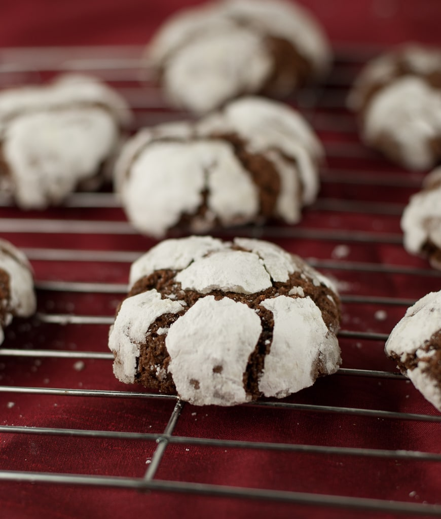 Gluten Free Chocolate Crinkle Cookies PineappleandCoconut (7)