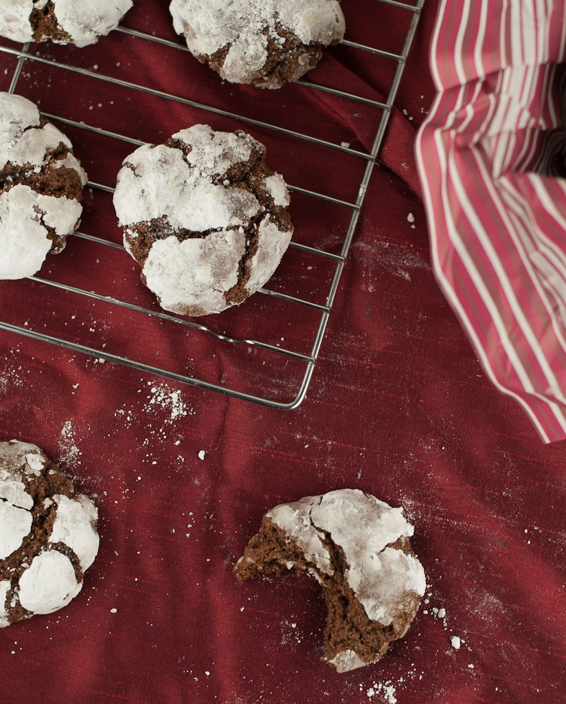 Gluten Free Chocolate Crinkle Cookies PineappleandCoconut