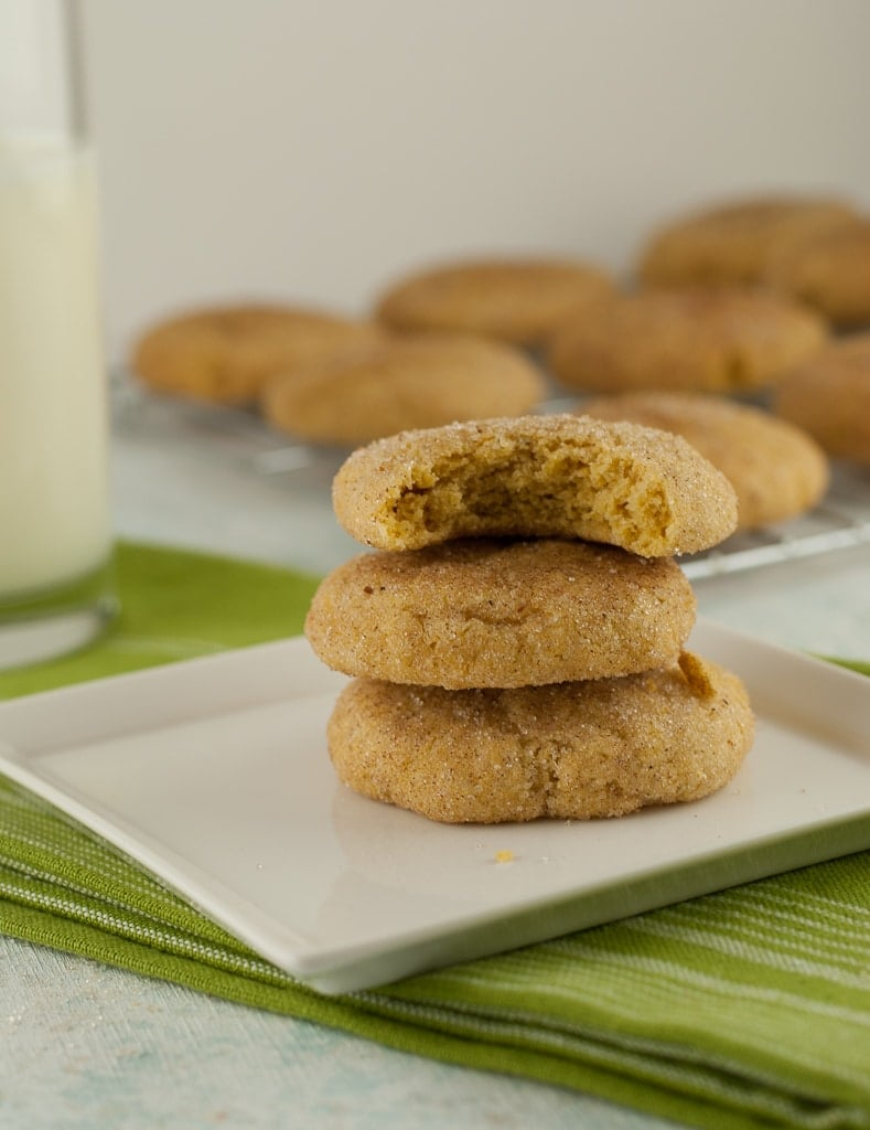 Gluten Free Pumpkin Snickerdoodle Cookies and Holiday Cookie Baking ...