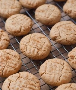 Puffy Coconut Peanut Butter Cookies For National Peanut Butter Day