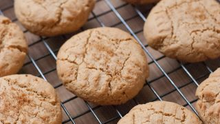 Soft Coconut Peanut Butter Cookies For National Peanut Butter Day