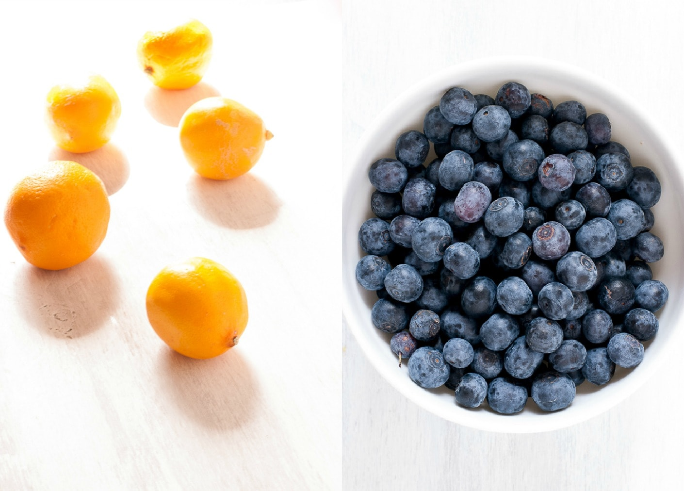 Gluten Free Meyer Lemon and Blueberry Pancakes Pineappleandcoconut.com #glutenfree