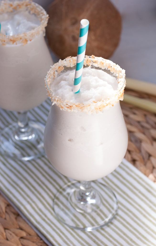 Coconut Margarita Recipe — Dishmaps