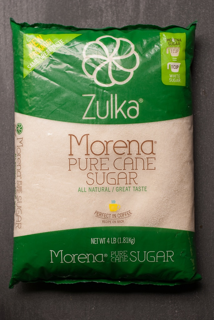 Coffee Bean Kahlua Ice Cream with Zulka Sugar PineappleandCoconut.com #zulka