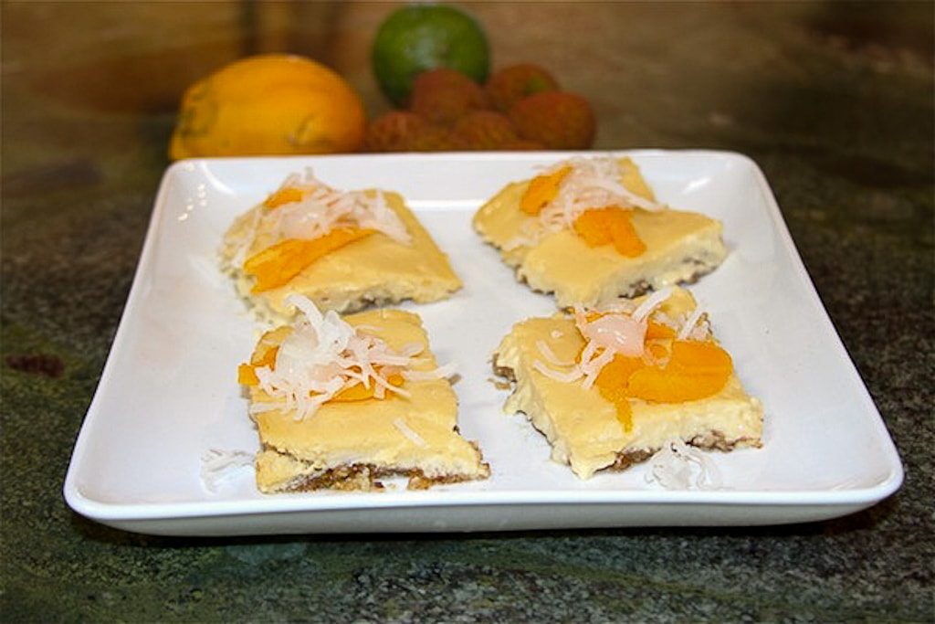 Tropical Cheesecake Bars Two Ways – Guest Post by Monica The Grommom
