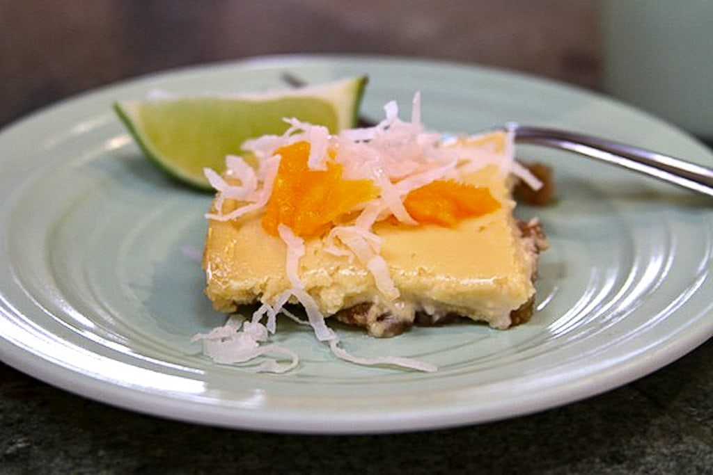 Tropical Cheesecake Recipe — Dishmaps