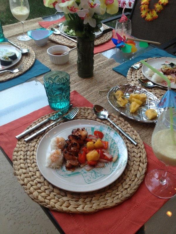 Backyard Aloha Family Picnic #SummerFun with World Market And 3 New Recipes www.pineappleandcoconut.com (46)