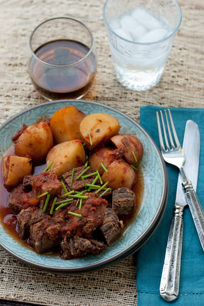 Father's Day Crock Pot Meat and Potatoes #CelebrateDad