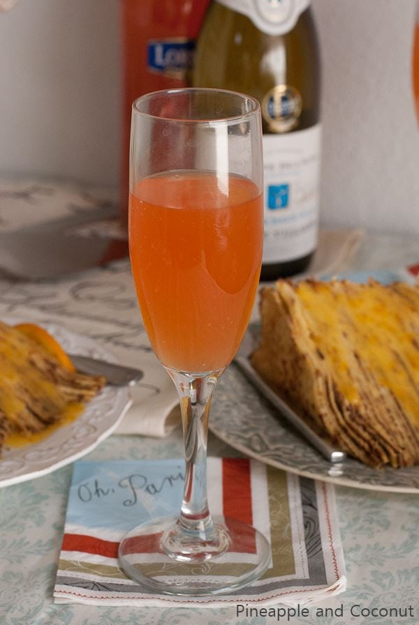 Lorina Soda Blood Orange Mimosa | Pineapple and Coconut.com