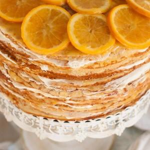 Crepe Suzette Crepe Cake #SummerInParis | Pineappleandcoconut.com