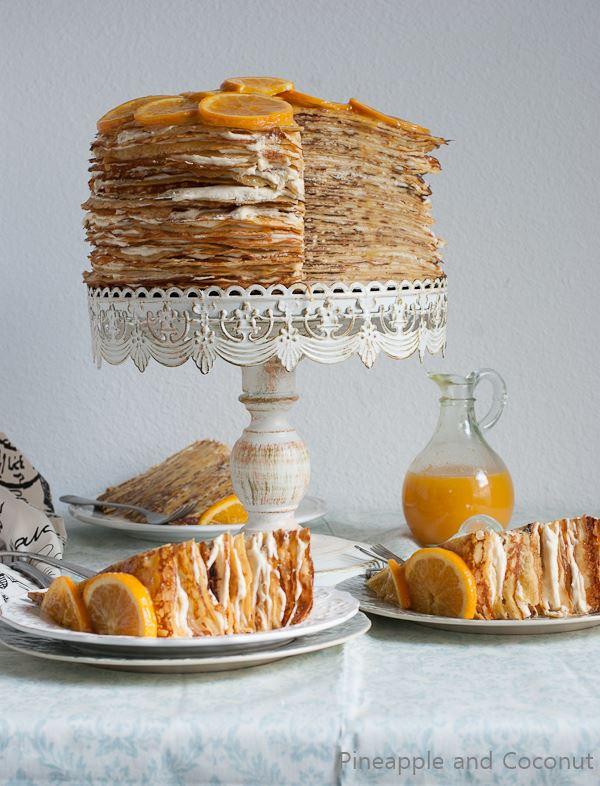 Crepe Suzette Crepe Cake (8)