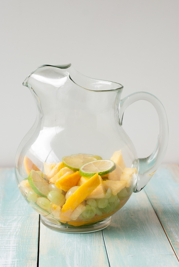 Tropical Passion Sangria | PineappleandCoconut.com