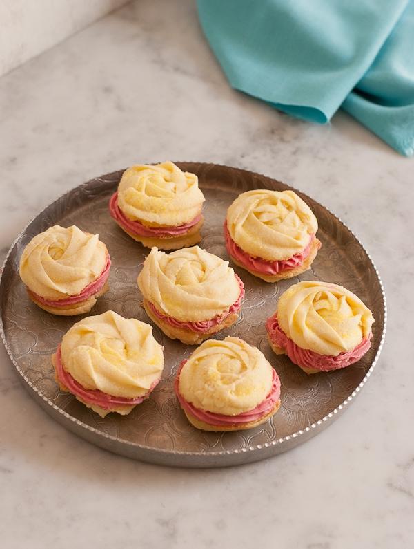Lemon Blackberry Sandwich Cookies #LeftoversClub | Pineapple and Coconut