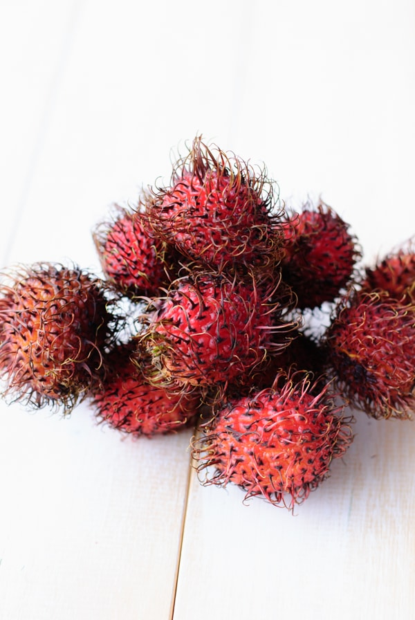 Sweet and Spicy Rambutan Cocktail