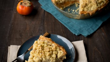 Persimmon and Pear Brandy Pie with Vanilla Bean Crumble www.pineappleandcoconut.com #pieweek (7)