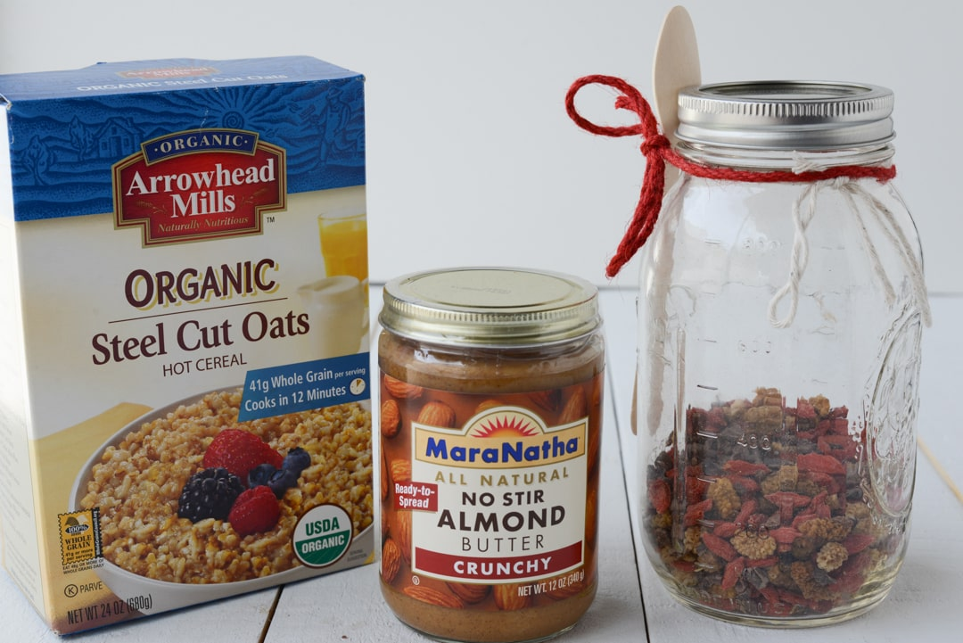 steel cut oats with almond butter honey recipes overnight steel cut ...