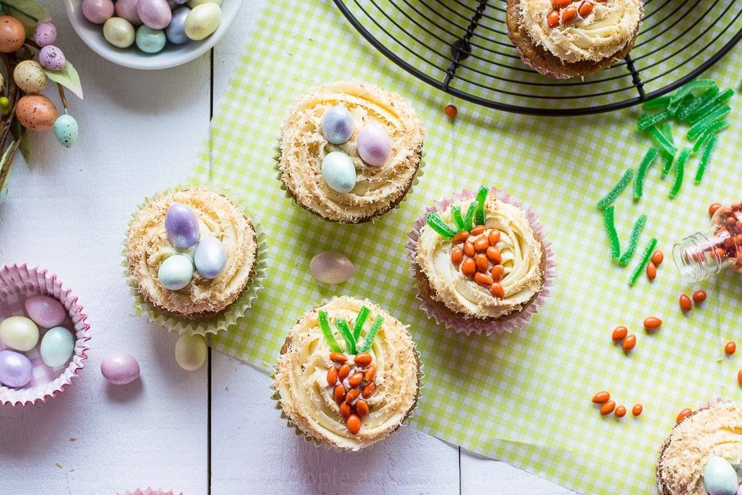 How To Make Candy Carrots For Cupcake Decorations | Apps Directories