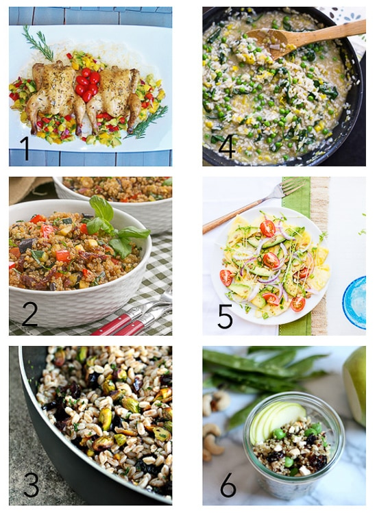 Healthy Spring Virtual Party Collage-2
