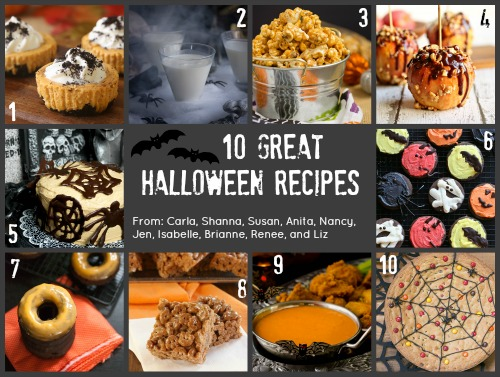 10 great halloween recipes