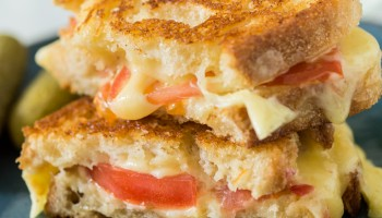 Grilled Cheese Tomato Sandwich-6856