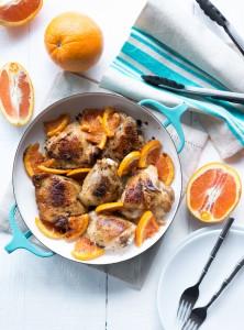 Vanilla Balsamic Roasted Chicken Thigs with Cara Cara Oranges-1026