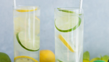 Simple Citrus and Coconut Cocktail-4011