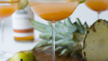 Pear Pineapple Spiced Rum Cider-1649
