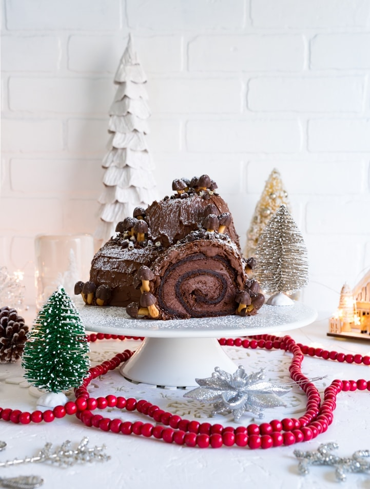 French Buche De Noel for Cost Plus World Market www.pineappleandcoconut.com