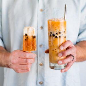 Boba Thai Iced Tea Popsicles-346