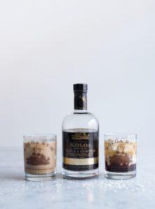 Hawaiian White Russian Cocktail