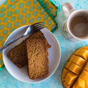 Mango Bread www.pineappleandcoconut.com #ChosenFoods #Ad