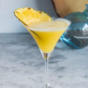 Aloha Friday Martini ( Pineapple Coconut Martini) www.pineappleandcoconut.com