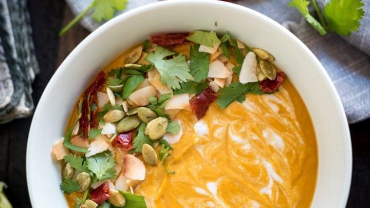 Thai Pumpkin Curry Soup