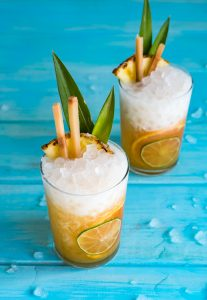 Island Dreamsicle Cocktail #AlohaFriday