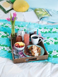 Mother's Day Breakfast in Bed – Coconut Brioche French Toast with Guava Syrup