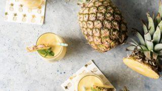 Pineapple White Wine Slushies