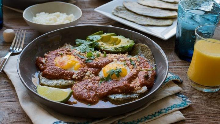 Huevos Rancheros with Grilled Nopales #ad #discoverworldmarket www.pineappleandcoconut.com