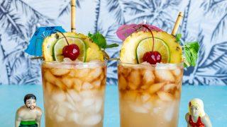 Hawaiian Wedding Mai Tai Cocktails