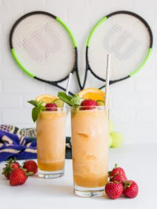 Frozen Pimm's Cup Slushies www.pineappleandcoconut.com