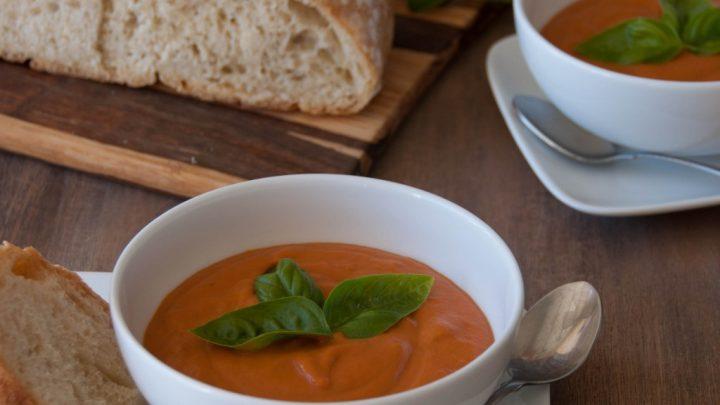 Creamy Tomato Coconut Soup