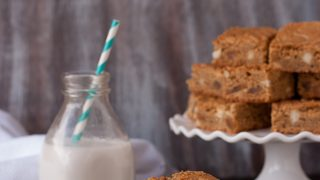 Brown Butter Piña Colada Blondies
