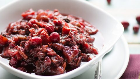 Best Ever Slow Cooker Cranberry Chutney